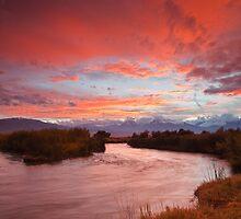 Epic Owens River Sunset by Nolan Nitschke