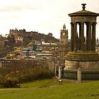 Edinburgh skyline from Calton Hill by Tom Gomez