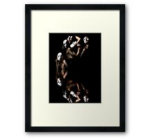 Shores Of The Manic Sea Framed Print