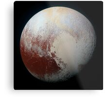 PLUTO - New hi-res image from NEW HORIZONS spacecraft Metal Print