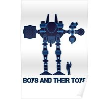 Boys and their toys Poster