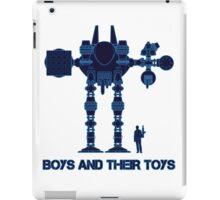 Boys and their toys iPad Case/Skin