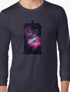 Space TARDIS - Doctor Who Long Sleeve T-Shirt