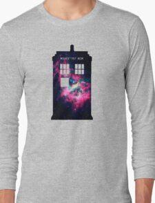 Space TARDIS - Doctor Who Long Sleeve T-Shirt
