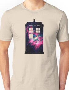 Space TARDIS - Doctor Who Unisex T-Shirt