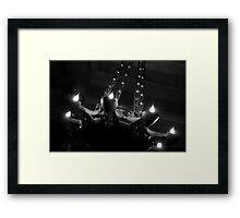 A little light is all you need Framed Print