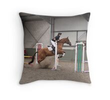 Clear Round  Throw Pillow