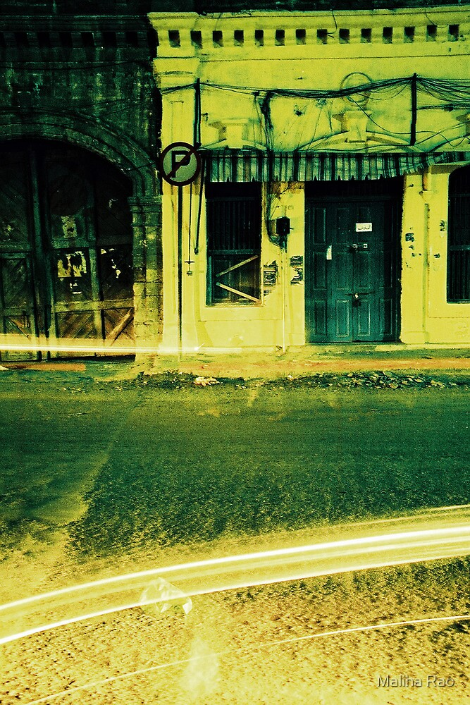 No Parking by Maliha Rao