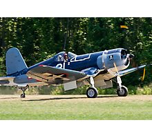 1945 Goodyear FG-1D Corsair Photographic Print