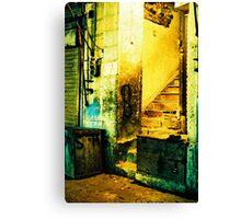 Street Corner Canvas Print