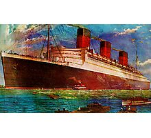 QUEEN MARY 1 Photographic Print