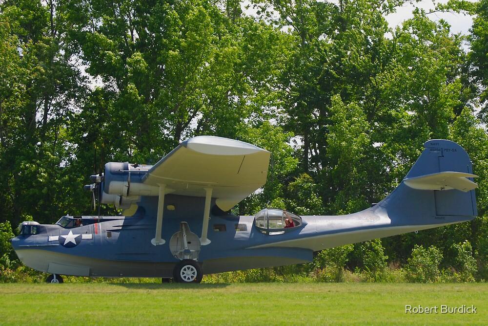 1943 PBY-5A Catalina by Robert Burdick