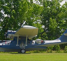 1943 PBY-5A Catalina by Robert Burdick