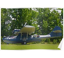 1943 PBY-5A Catalina Poster