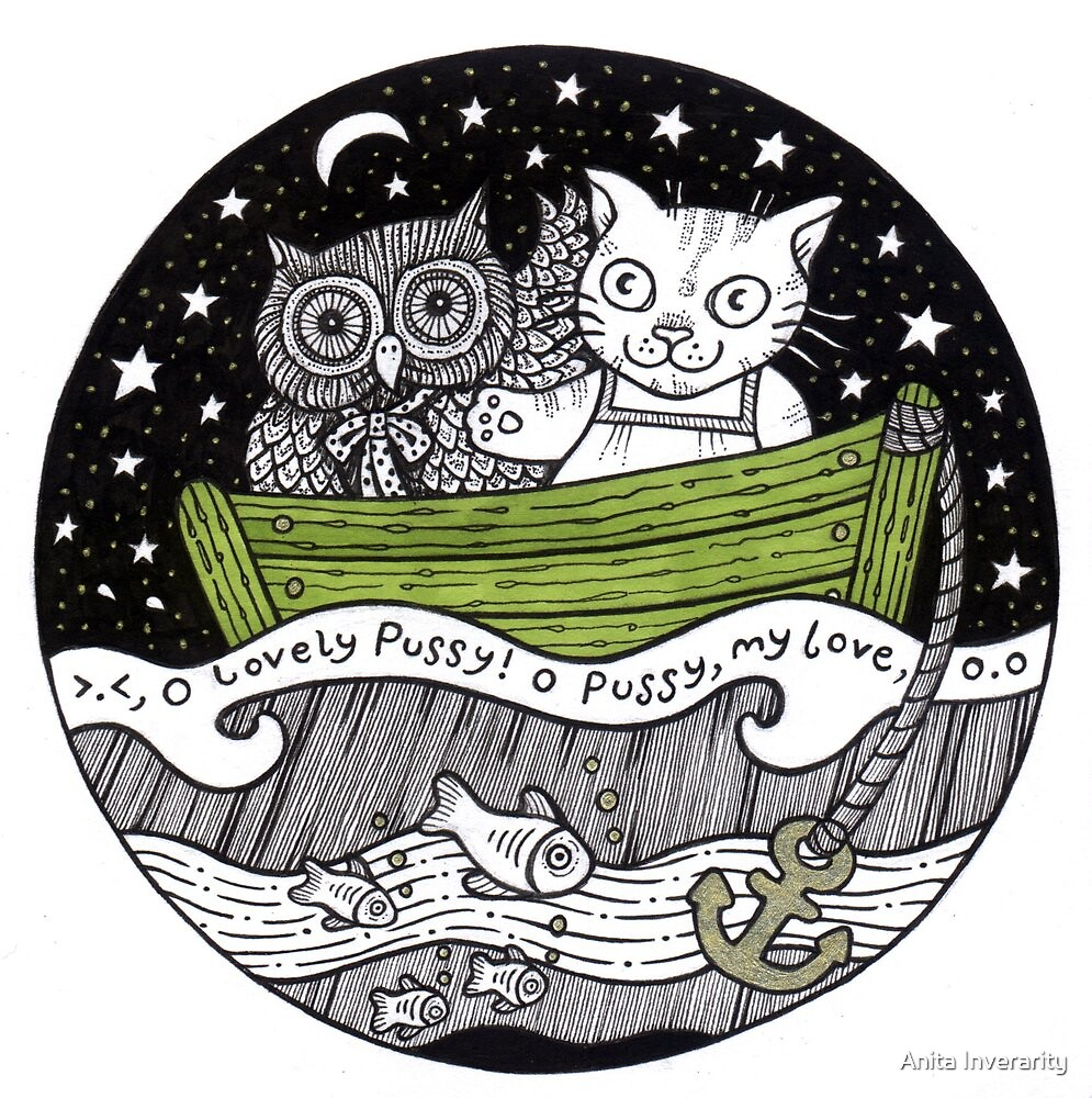 O Lovely Pussy O Pussy My Love by Anita Inverarity