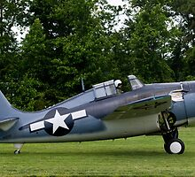 1944 Grumman FM-2 Wildcat by Robert Burdick