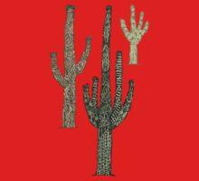 Cactus One Piece - Long Sleeve