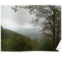 Overcast on the Parkway Poster