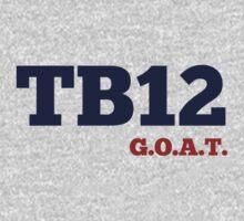 TB12 - GOAT Kids Tee