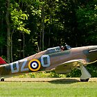 1943 Hawker Hurricane  MK XII-B by Robert Burdick