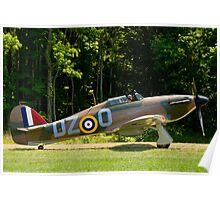 1943 Hawker Hurricane  MK XII-B Poster