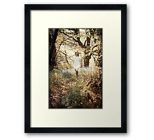 Queen of the woods Framed Print