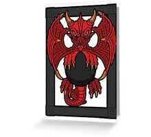 Celtic Dragon Greeting Card