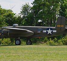 1944 North American B-25J-25-NC Mitchell by Robert Burdick