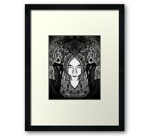 From the depths of my soul I shall return Framed Print