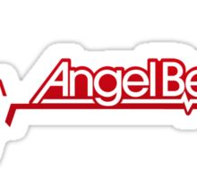 angel beats logo anime manga shirt Sticker