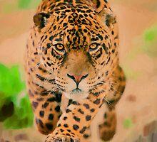 Prowling Leopard by artstoreroom