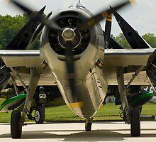 Grumman/Goodyear TBM Avenger by Robert Burdick