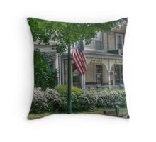 Memorial Day Street Throw Pillow