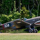 "1941 Curtise P40E ""Kittyhawk"" by Robert Burdick"