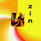 Zin is a playful word by cherie hanson