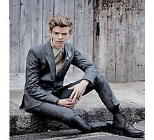 Thomas Brodie-Sangster 16 Photographic Print