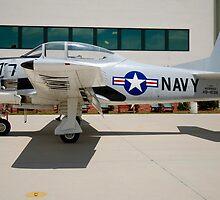 1949 AT-28A-NA Trojan by Robert Burdick