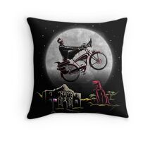 Pee Wee Phone Home Throw Pillow