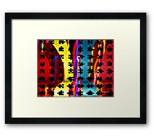 The Puzzle Framed Print