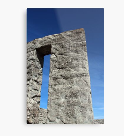 Inside Stonehenge Washington State Metal Print