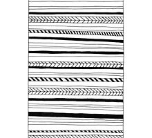 Abstract Black Lines Pattern by cinema4design