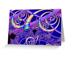 Symphony in C# Minor Greeting Card