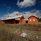Lue Railway Station, New South Wales, Australia 2009 by muz2142