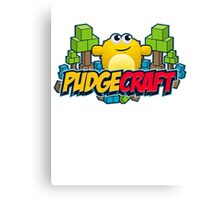 PudgeCraft Canvas Print