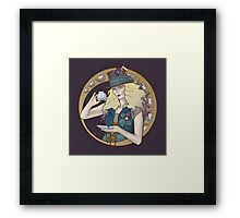 Down With Tea! Framed Print