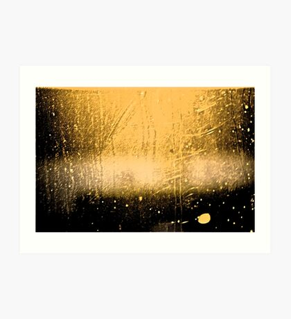 Late Sunlight through Dirty Glass Art Print