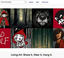 Little Red Riding Hood - 28 May 2011 by The RedBubble Homepage
