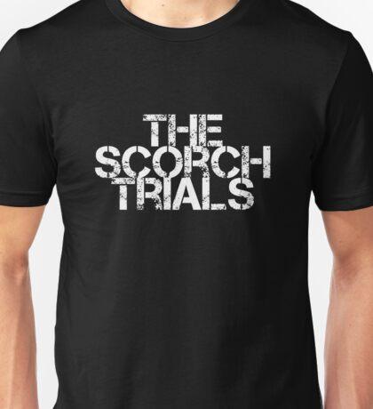 The Scorch Trials - White Unisex T-Shirt