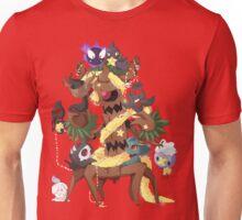 Ghostly Christmas Unisex T-Shirt