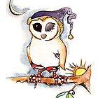 Owl in Sox by TwoShoes